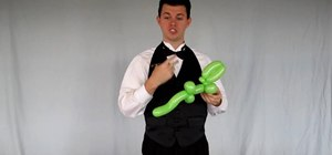 Make a simple balloon alligator