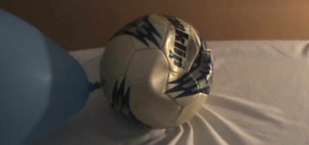Inflate a Ball Without a Pump