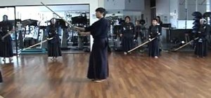 Strike small men in Kendo