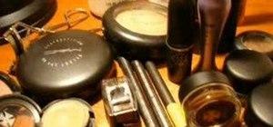 Put together a makeup kit