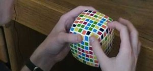 Solve the center of the V-Cube 7 puzzle