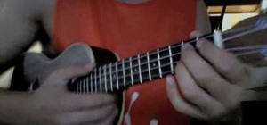 "Play the song ""Halo"" by Beyoncé on ukelele"
