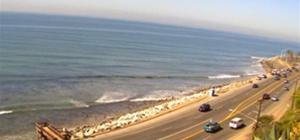 Sunset Blvd Surf Cam (from a hill in Palisades)