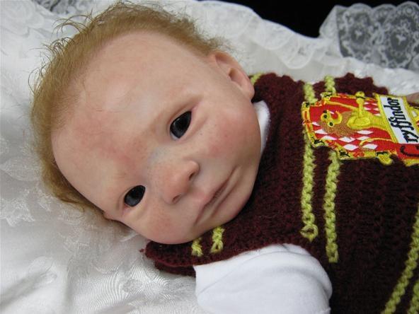 Baby Voldemort: The Creepiest of All Harry Potter Reborn Dolls