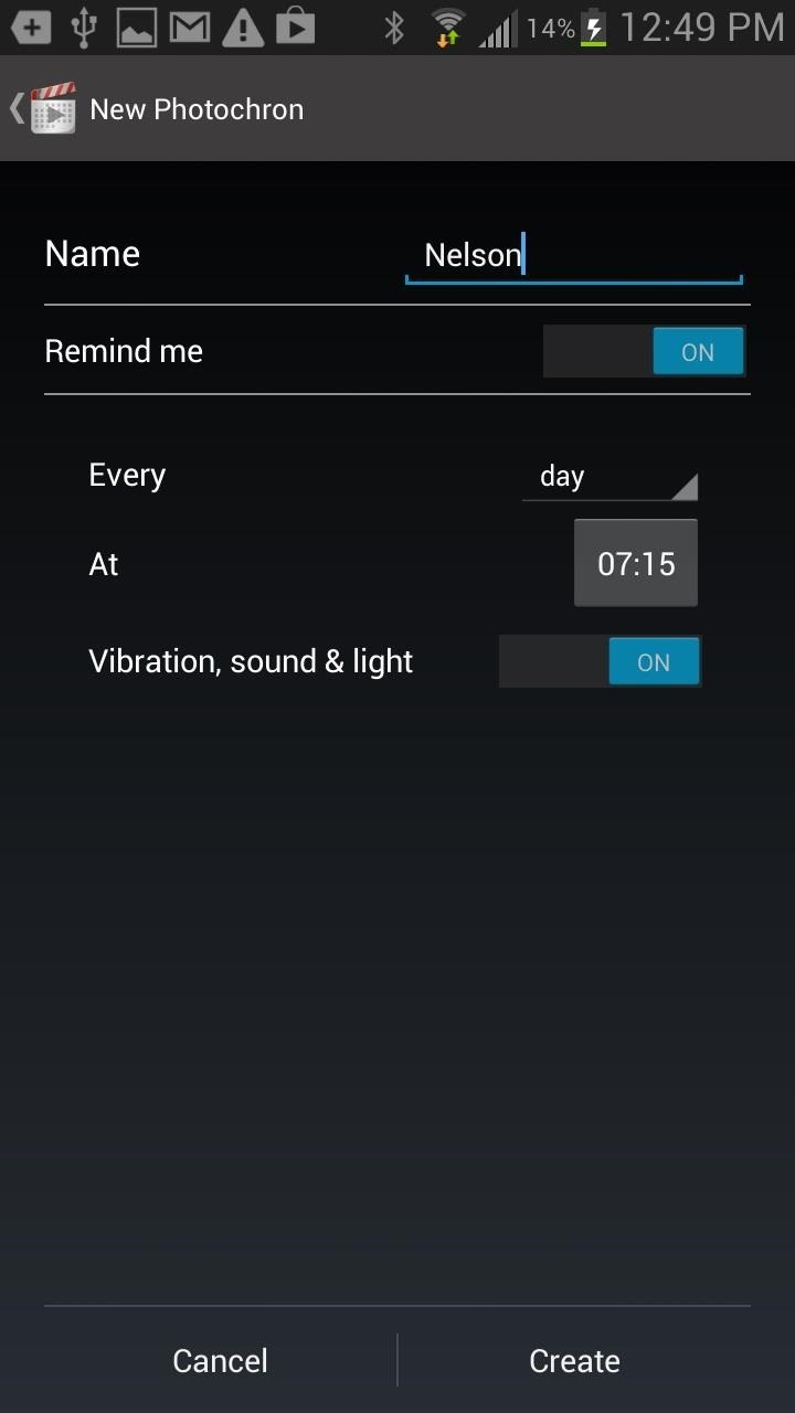 How to Make Photo Time-Lapse Videos of Yourself Using Your Samsung Galaxy Note 2 or Other Smartphone