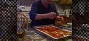 Make a pizza with premade dough