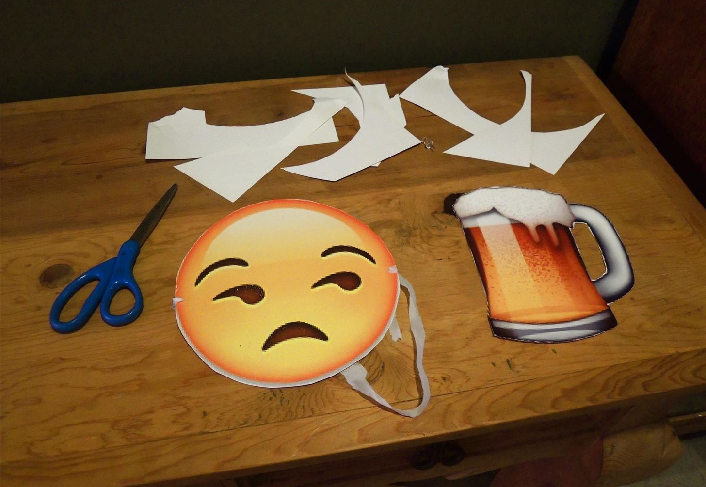 Print Out These Emoji Cutouts for the Easiest Halloween Costume Ever