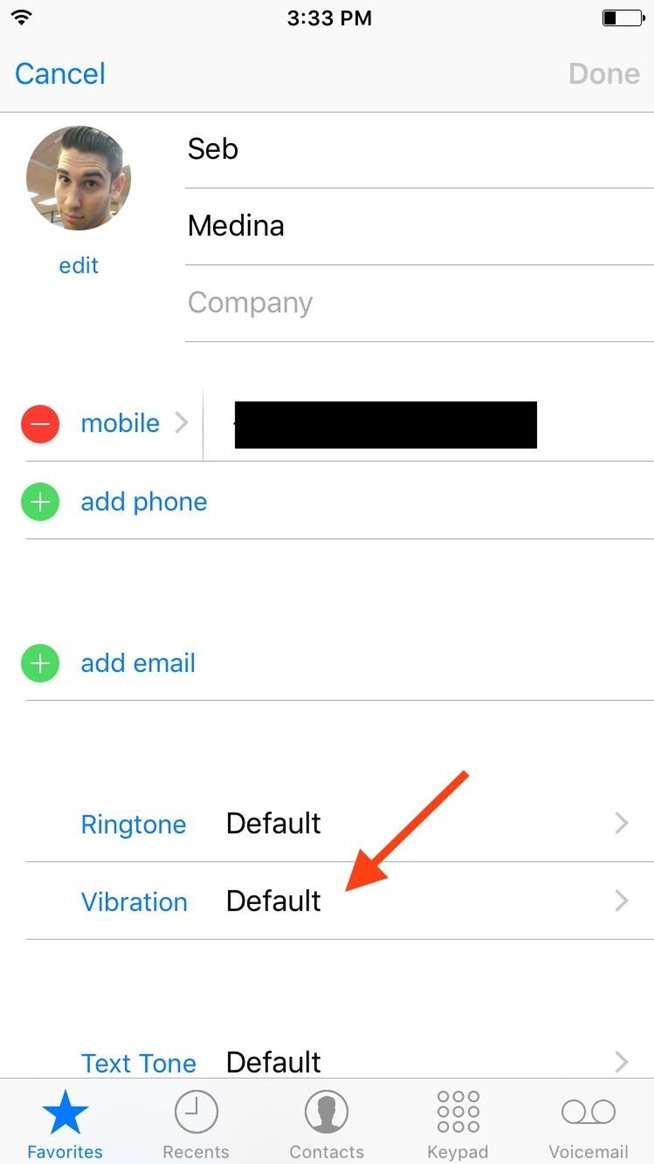How to Create Custom Vibration Patterns for Contacts on Your iPhone