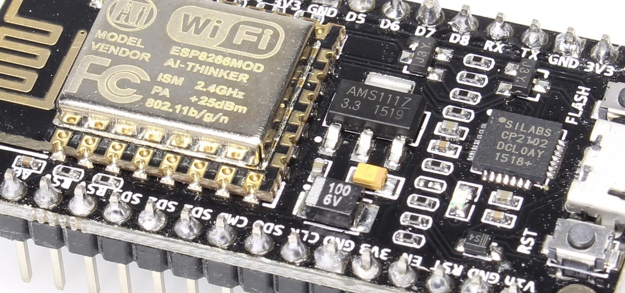 Program an ESP8266 or ESP32 Microcontroller Over Wi-Fi with MicroPython