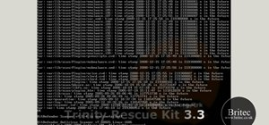 Recover a Windows installation with the Trinity Rescue Kit Live CD