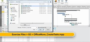 Create a new task in Microsoft Project 2010