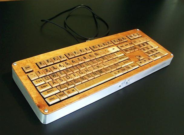 The SCRABBLE Keyboard