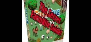 Advance quickly in the Facebook game FarmVille