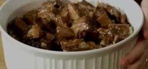 Make stick-to-the-ribs casserole with Paula Deen