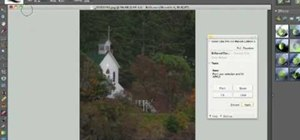 Apply Nik Color Efex Pro filters in Photoshop when using a Wacom tablet