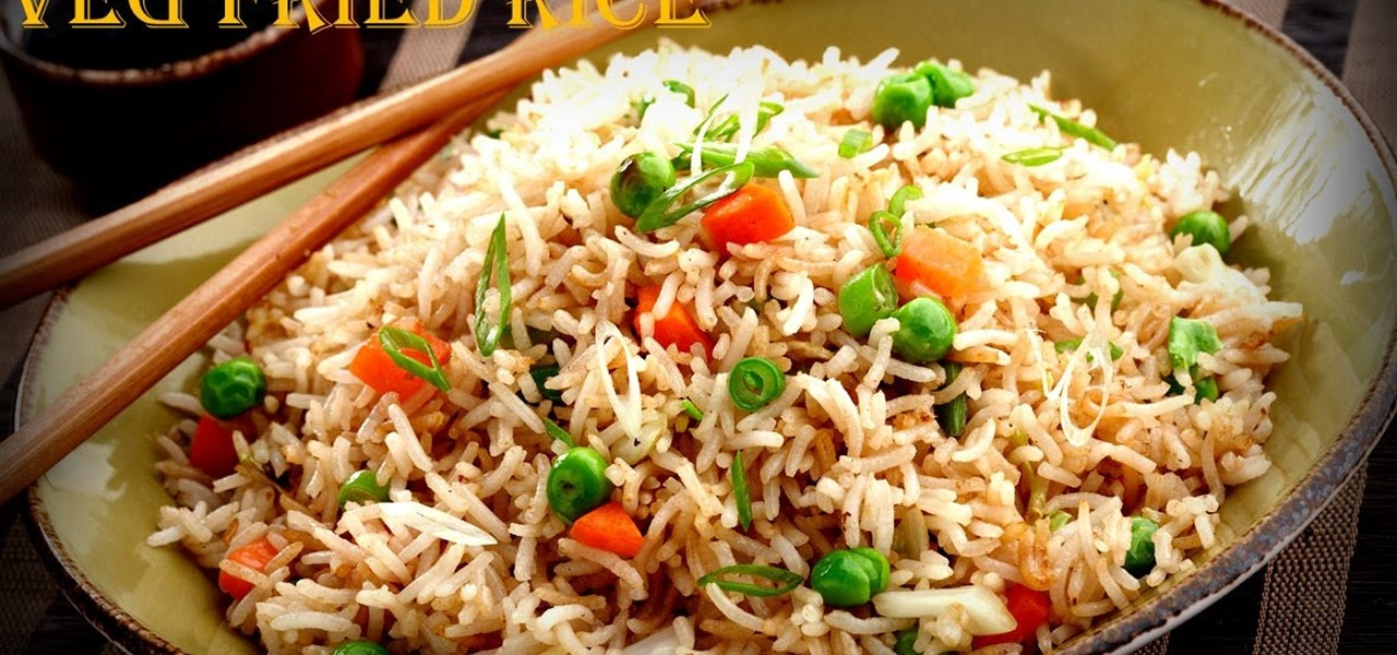 How to Make Vegetable Fried Rice in Chinese Style « Vegetable Recipes