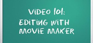 Edit videos like a pro with Windows Live Movie Maker