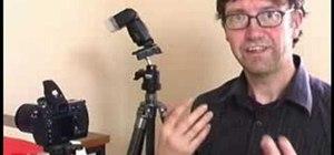 Use off camera wireless flash