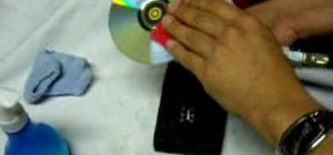 Do a heavy duty fix of a scratched CD or DVD