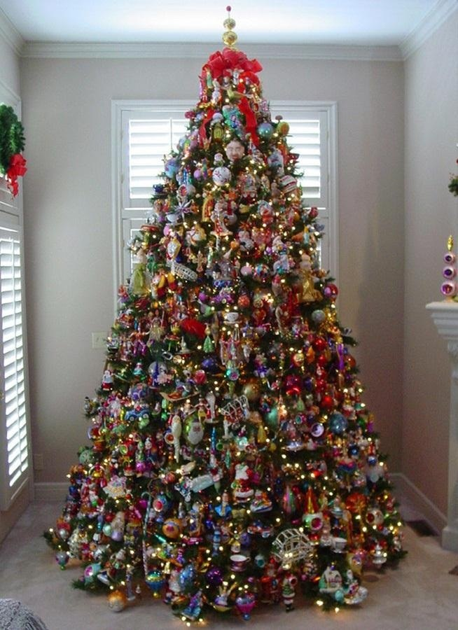 Pictures Of Decorated Christmas Trees Captivating With Best Decorated Christmas Trees Images