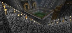 Play Spleef in Minecraft