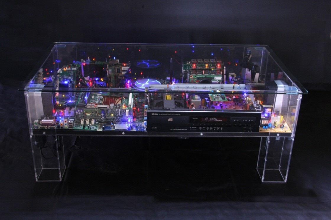 The 'Electri-City' Tables by Ben Yates