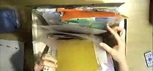 Keep & file your leftover scrapbook scrap paper
