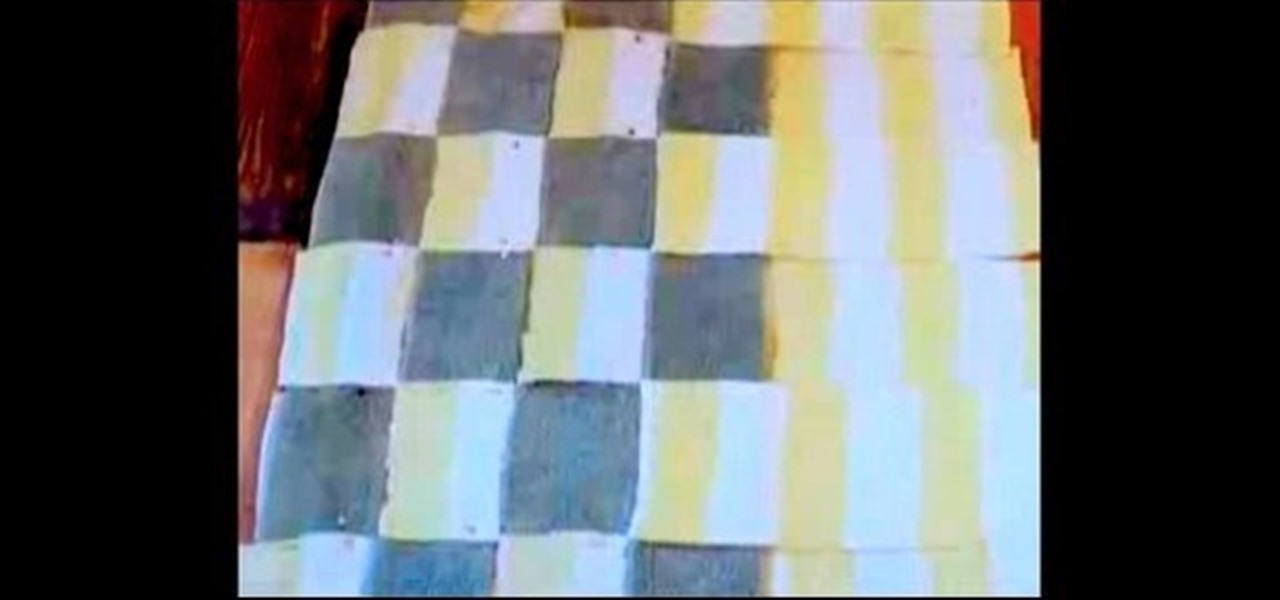 How To Make A Bath Rug Out Of Towels With Threadbanger