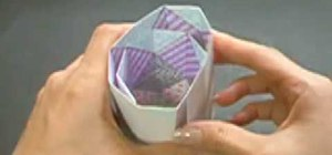 Origami a kaleidoscope