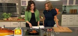 Cook mirin glazed salmon with Nigella Lawson