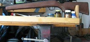 Clean a bolt action rifle