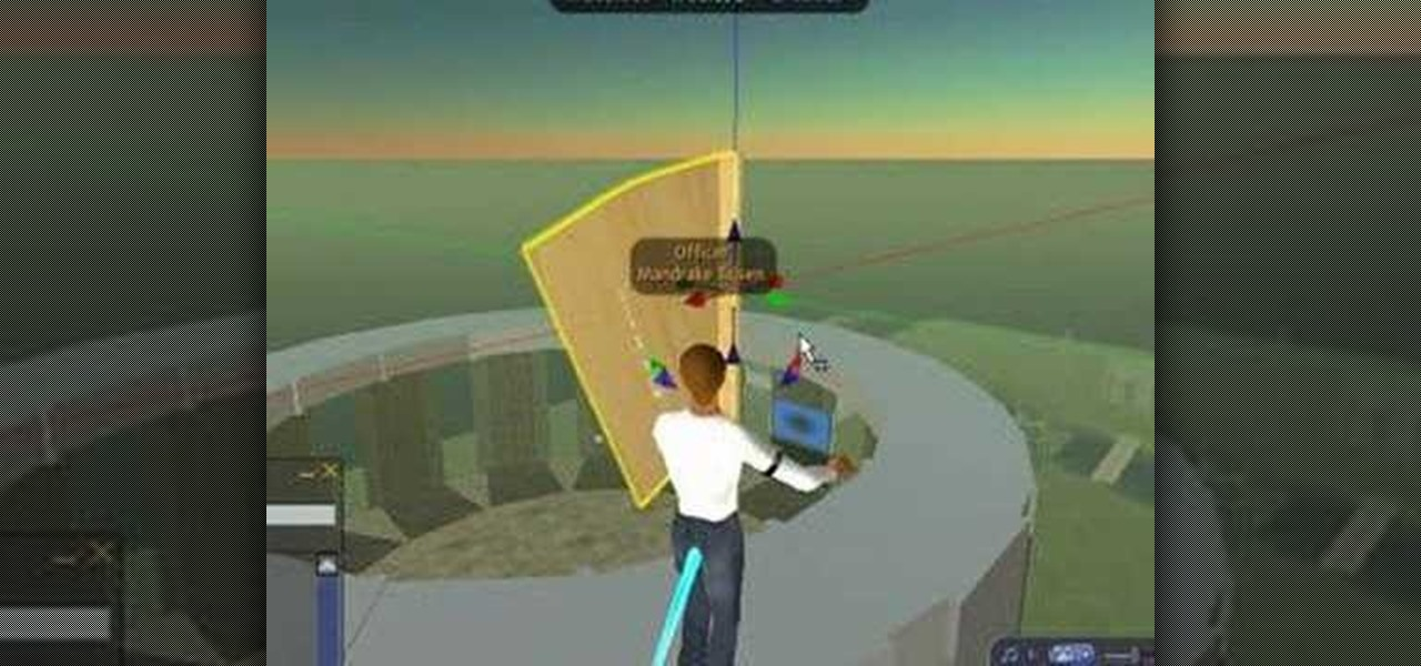 How to Script a flag in Second Life « PC Games :: WonderHowTo