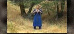 Practice a tai chi sacred dance movement ritual