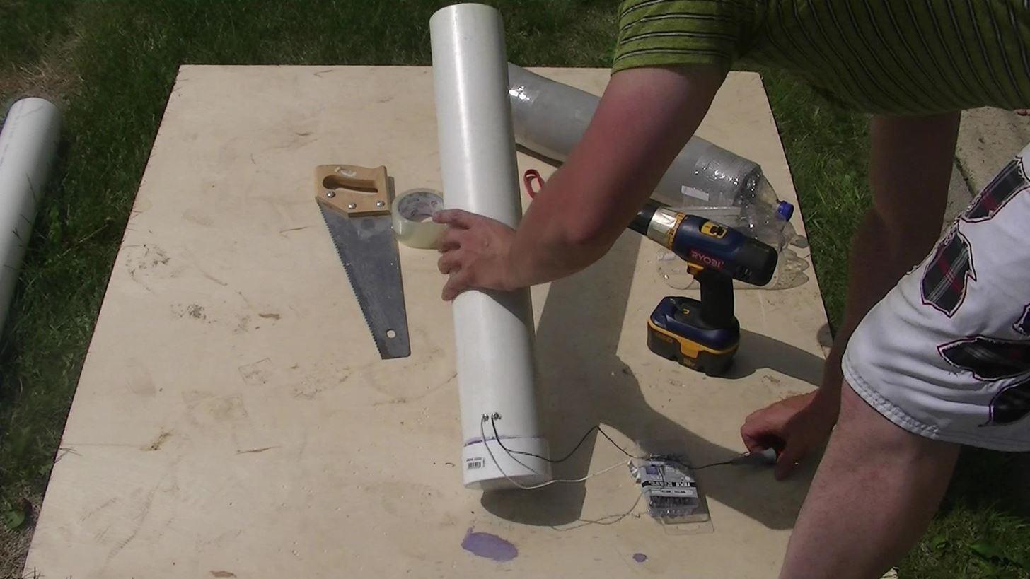 How to Make a Homemade PVC Rocket