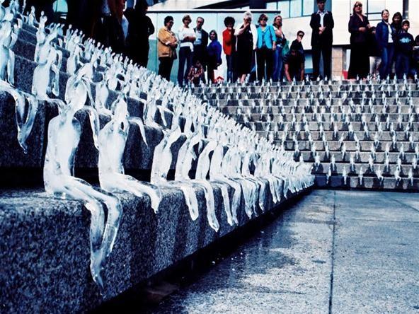 A Beautiful Death: 1,000 Melting Icemen