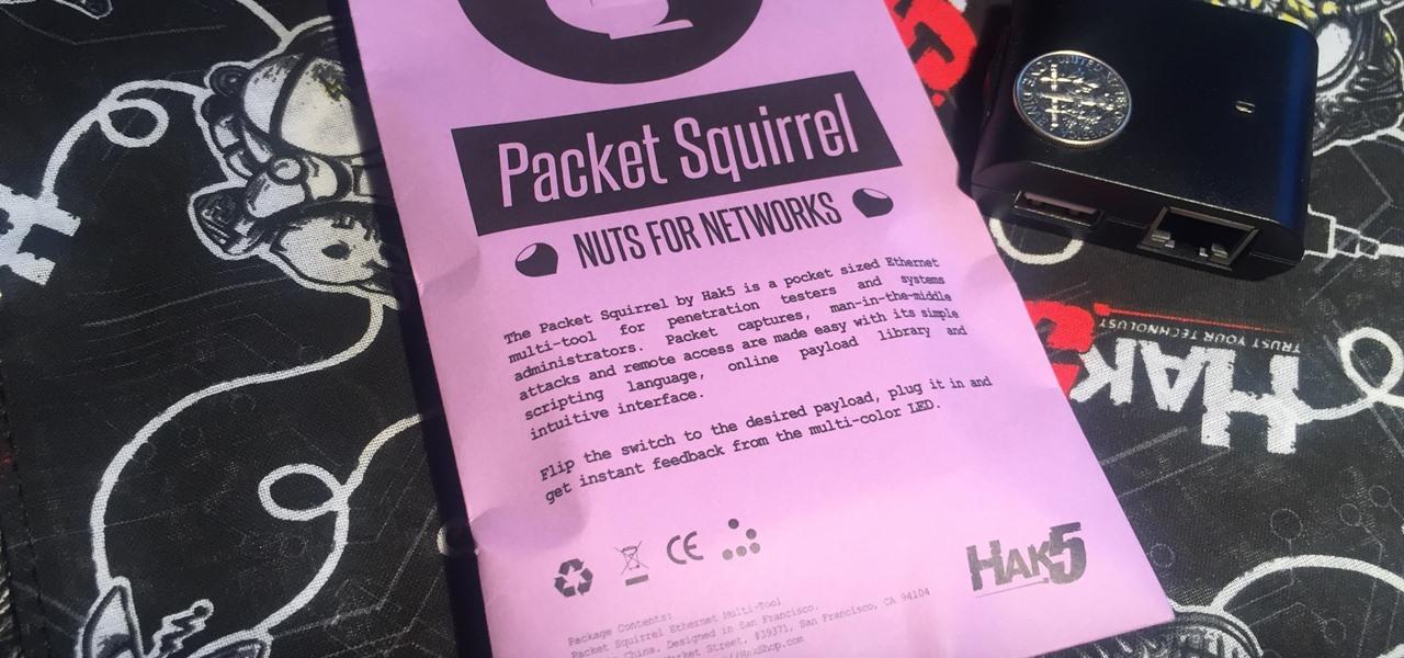 Hak5 Just Released the Packet Squirrel | HackerTor