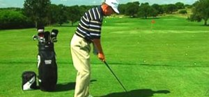 Close your golf stance to cure a golf pull shot