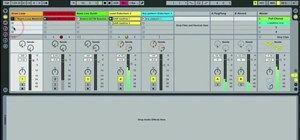 Use sidechain compression in Ableton Live 8