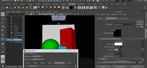 Create global illumination photons in Maya 2011