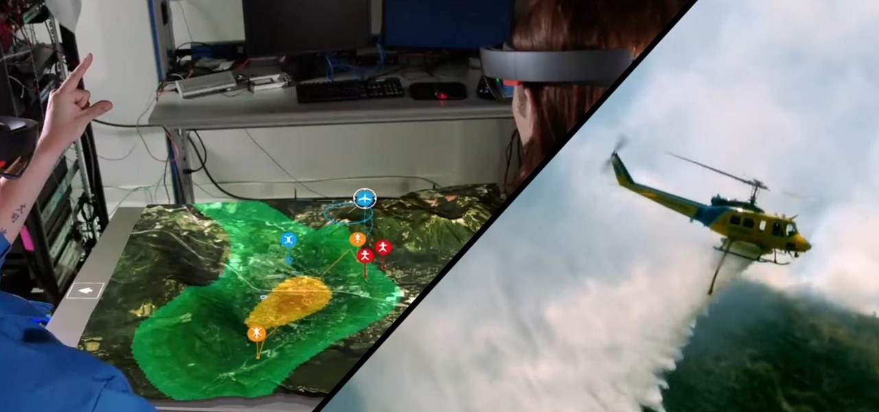 Boeing Is Fighting Wildfires with the Microsoft HoloLens & Large Drones - How to