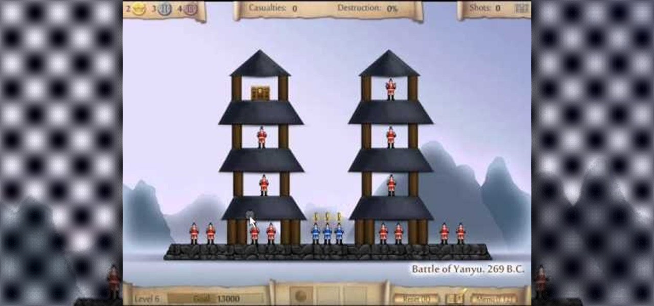 how to beat every level of the armor games physics puzzle game