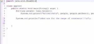 Use EnumSet to get a range of constants in Java