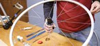 How to Properly lace a 32-spoke rear bicycle wheel