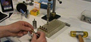 Reload rifle ammunition for precision shooting