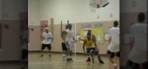 Run the fast break when coaching basketball