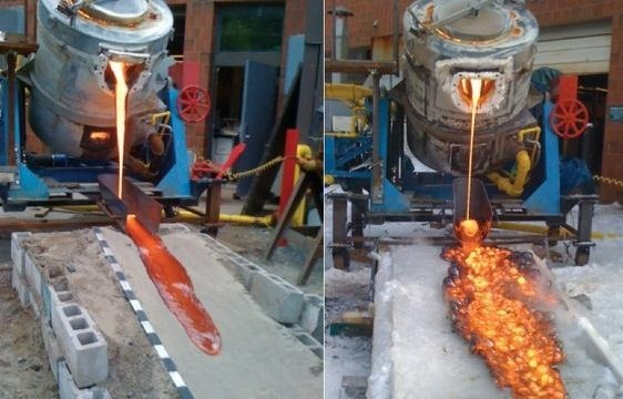 Freaking DIY Magma! Syracuse University Creates Recyclable Red-Hot Lava Flows