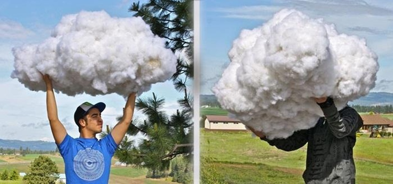 Make Realistic Fluffy Cloud Props from Things Around the House