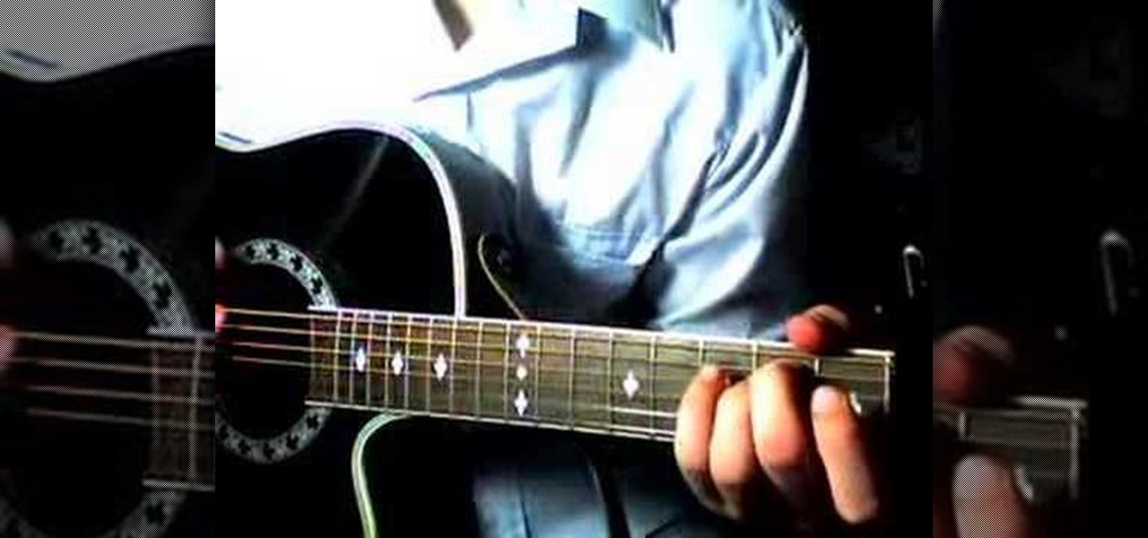 How To Play George Straits Troubadour On Acoustic Guitar