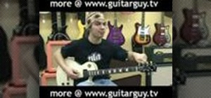 "Play ""Heart Shaped Box"" by Nirvana on electric guitar"