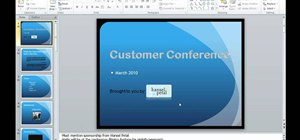Preview pasted items in Microsoft PowerPoint 2010